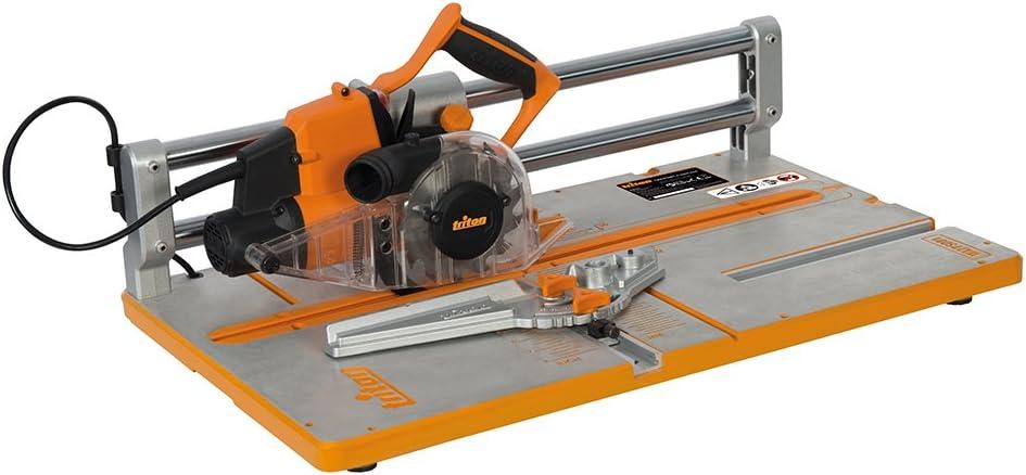Triton TWX7PS001 Sierra para suelos de madera, Plata, 127 mm ...