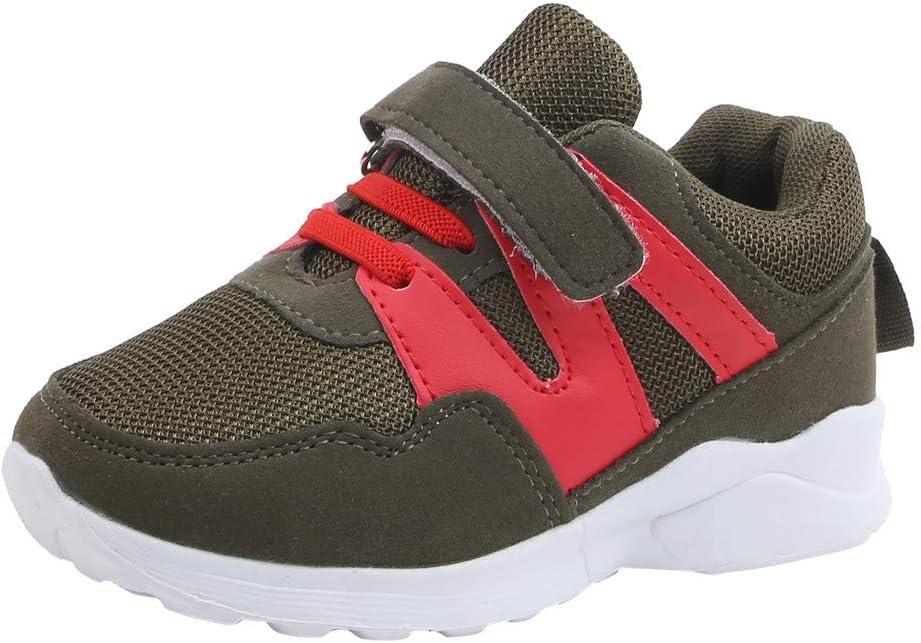 Leaf2you Zapatillas para niños y niñas Malla Transpirable Flyknit Ligero Zapatos de Caminar para niñas (niños pequeños/niños Grandes): Amazon.es: Hogar