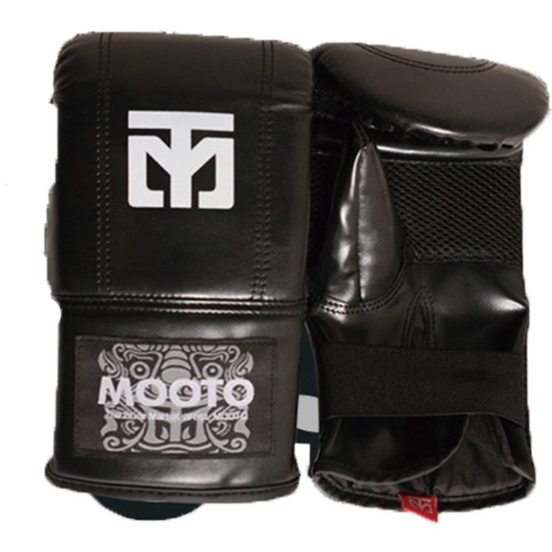 Mooto MMA グローブ TG-1 ブラック ブルー ピンク 3色 フリーサイズ TKD 格闘技キックボクシング ブラック
