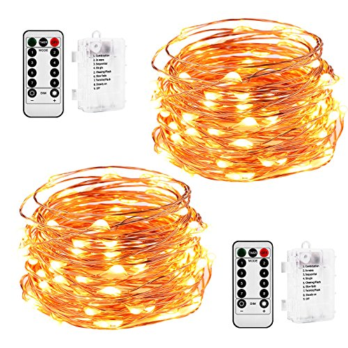 100 Led C 5 Holiday Christmas Lights Multi Color - 3