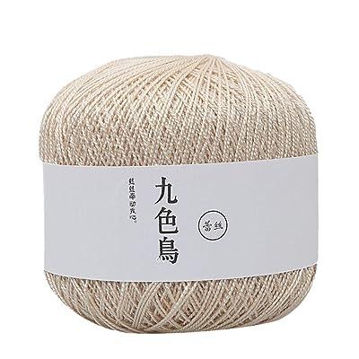 ???? Euone Sales!!! ???? Lace Thread DIY Woven Cotton Fine Cotton Thread Crochet Yarn 8th: Toys & Games