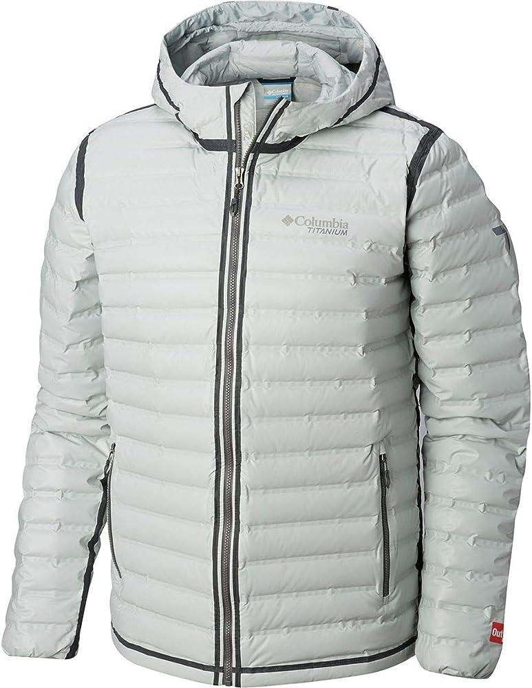 Men/'s shiny soft nylon wet-look down jacket down coat facial protection clothes