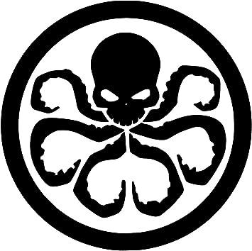 Hydra Symbol Vinyl Car Window Laptop Decal Sticker
