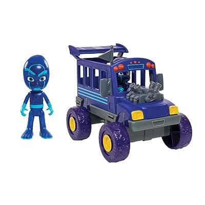 PJ Masks Vehicle Night Ninja and Bus: Toys & Games