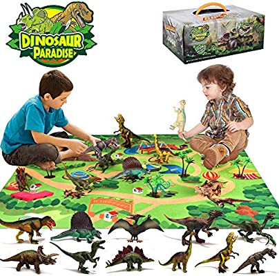Dimetrodon Dinosaur Figure Educational Collection Toy Birthday Gift for Kid Boy