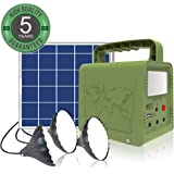 WAWUI Portable Power Station, Solar Generator with Solar Panel & Flashlights for Home Emergency Backup Power, Camping…