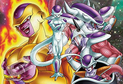 Ensky Dragon Ball Super Frieza All Forms Art Crystal Jigsaw Puzzle (300 Piece)