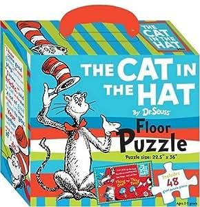 Dr Seuss The Cat In The Hat Floor Puzzle Dr Seuss