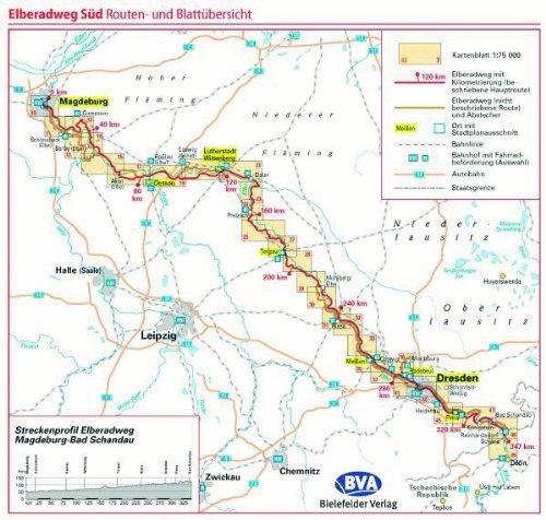 Adfc Radreisefuhrer Elberadweg Sud Von Magdeburg Uber Dresden
