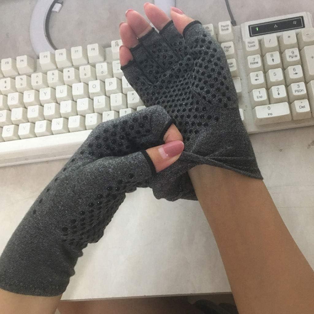 ECMQS Artritis Guantes para Hombre Mujer Artritis de compresi/ón Guantes wirkt schmer anelg/ésico en reumatoide del T/únel Carpiano para de Ordenador typisierung Trabajo