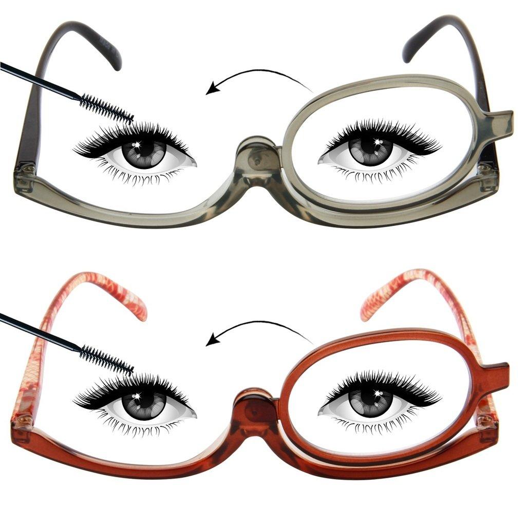 Amazon Liansan Designer 2 Pack Makeup Reading Glasses