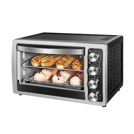 NAUY@ Mini horno eléctrico de 30L con control de temperatura de ...
