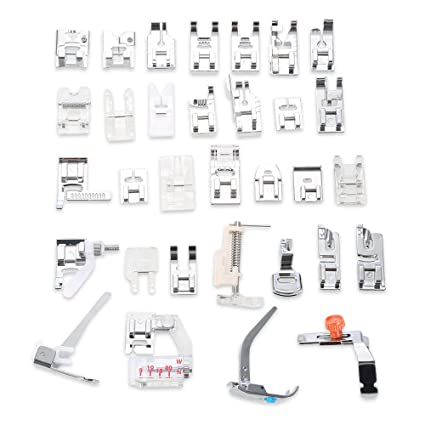 Amazon Domestic 40 Pcs Sewing Machine Presser Feet Set For Simple Brother Sewing Machine Presser Foot Types