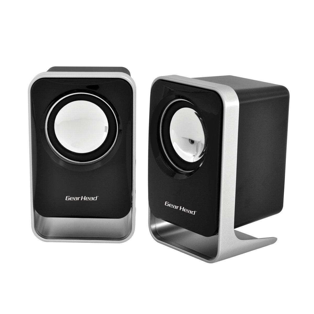 Amazoncom Gear Head USB 20 Speakers for HomeOffice SP1500USB