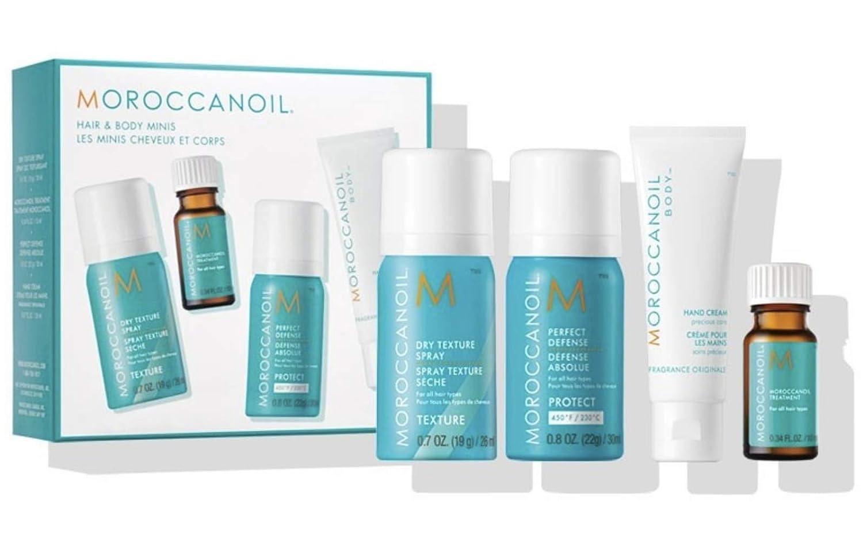 Moroccanoil Hair & Body Minis Set Moroccan Oil