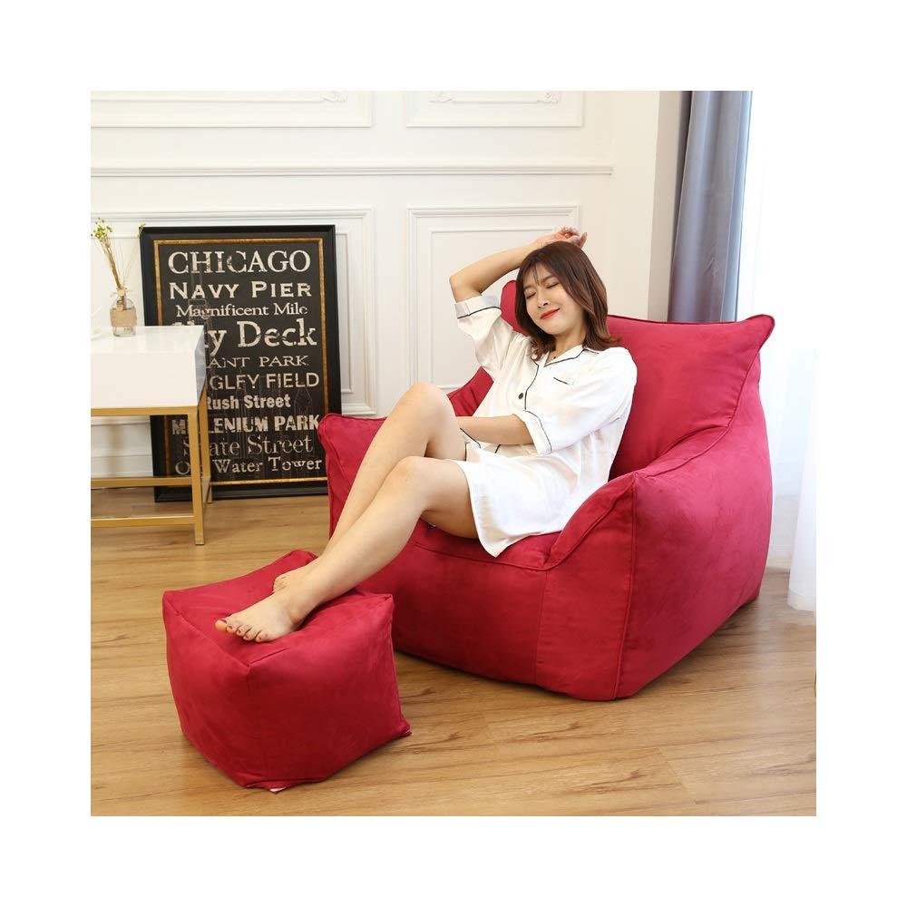 Remarkable Amazon Com Hongteng Multi Color Lazy Couch Tatami Bean Bag Short Links Chair Design For Home Short Linksinfo