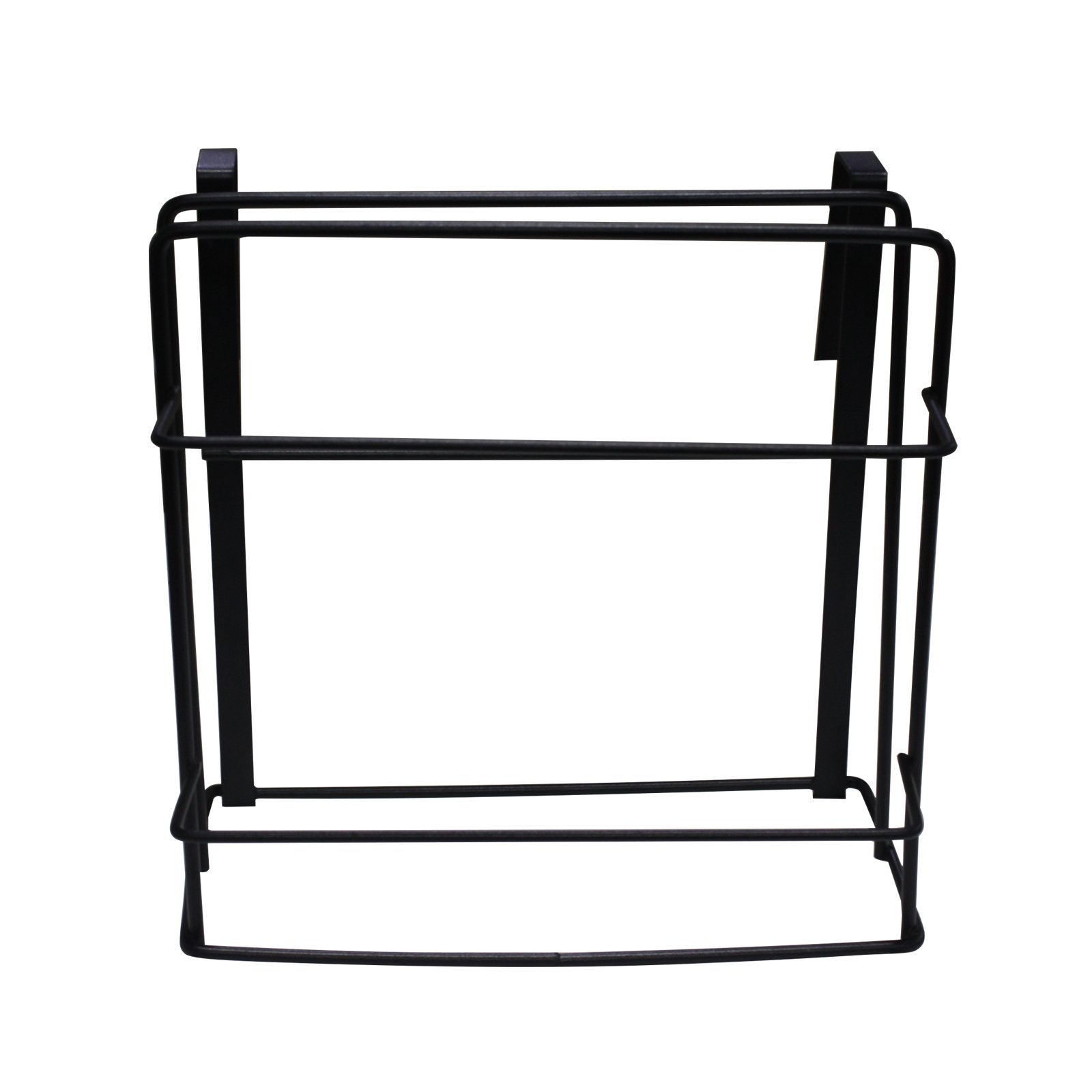 Chopping Board Holder Under Cabinet Shelf Organizer Towel Rack Multifunctional Kitchen Cookware Organizer Storage Rack Hanging Kitchen Storage Holder (Black-1pack) by Kitchen Hardware Collection (Image #3)