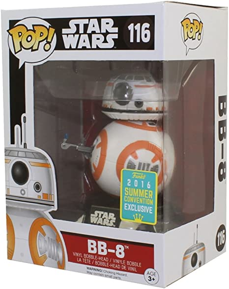 Star Wars-BB-8 Thumbs Up The Force Awakens Pop Vinyl SDCC 2016 Exclusive Fig...