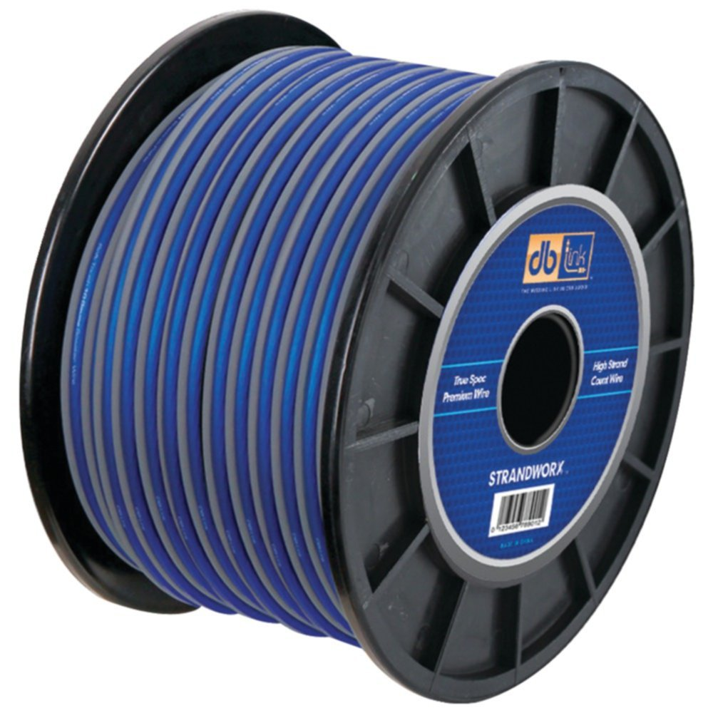 db Link SXSW16BL500 Strandworx 16 Gauge Speaker Wire 500ft Gray-Blue Consumer Electronics by DB Link