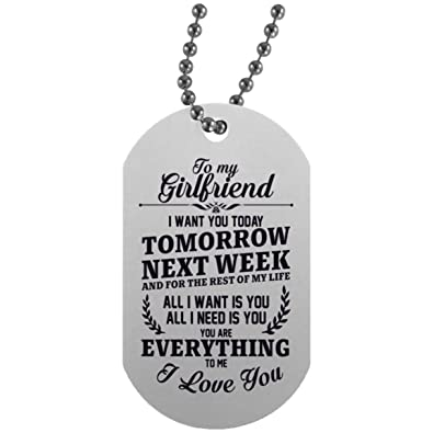 Amazon Boyfriend And Girlfriend Necklaces Aluminum