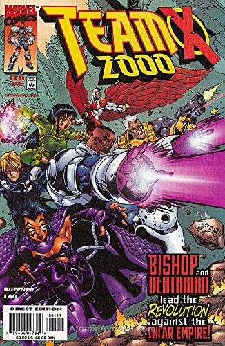 Team X 2000#1 VF/NM ; Marvel comic book
