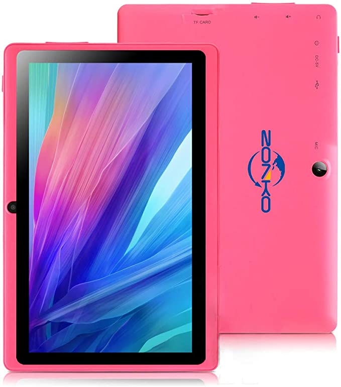 ZONKO 7 inch Tablet, Android 8.1 Quad Core 1024×600 Display