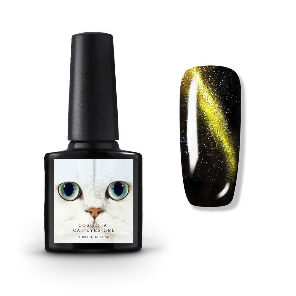Coscelia Soak Off cat eye Gel Nail Polish Glitter UV LED Gel Polish Manicure Varnish