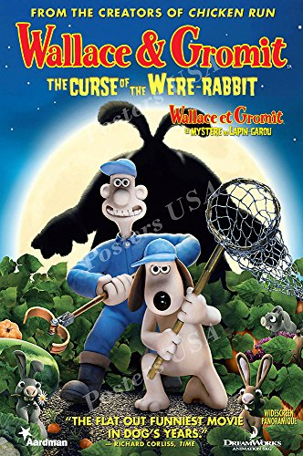 Posters USA - DreamWorks Wallace and Gromit The Curse of the Were-Rabbit Movie Poster GLOSSY FINISH - FIL111 (24