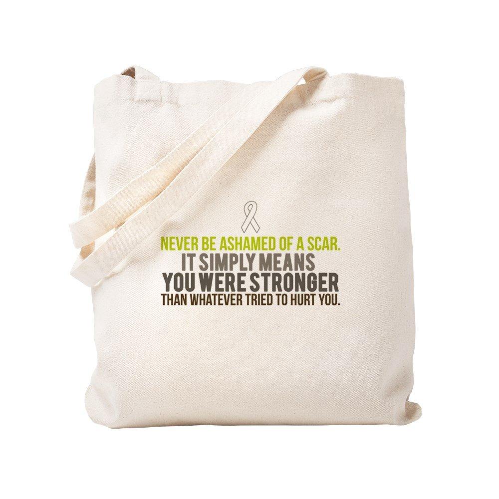 CafePress – Stronger – ナチュラルキャンバストートバッグ、布ショッピングバッグ S ベージュ 0795123108DECC2 B0773SR963 S