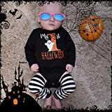 My First Halloween Baby Girl Boy Clothes Newborn