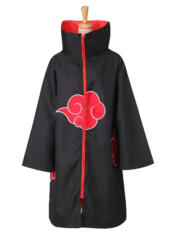 Angelaicos Unisex Halloween Cosplay Costume Uniform Cloak with Headband (XL, Cloak with Stand Collar)