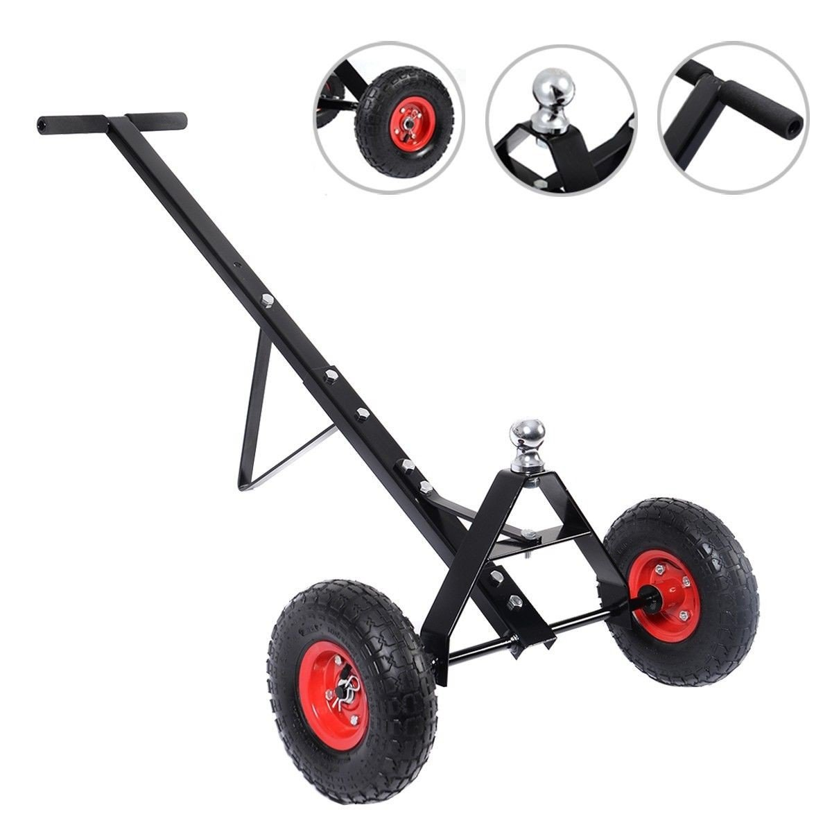600lb HEAVY DUTY Utility Trailer Mover Hitch Boat Jet Ski Camper Hand Dolly New - By Choice Products Unknown