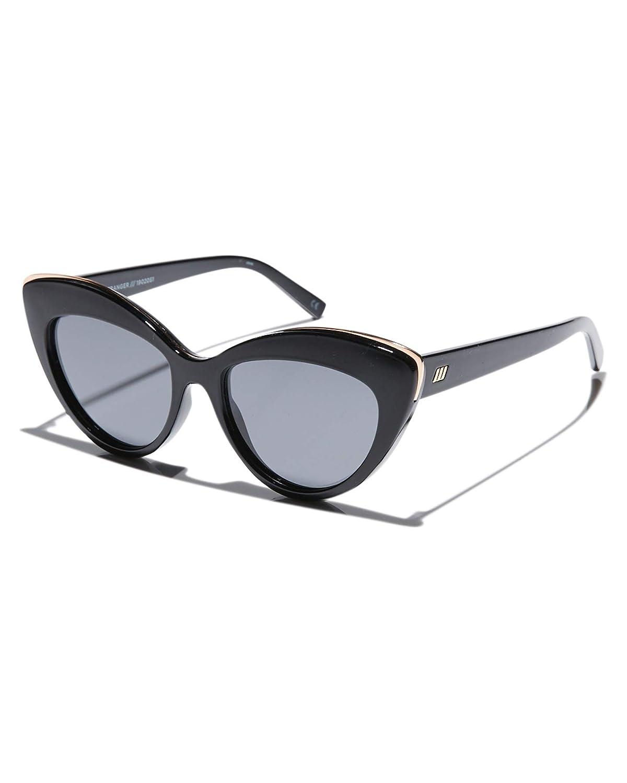 Le Specs Mujeres hermosas gafas de sol extraños Negro única ...