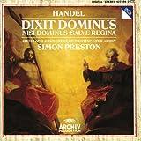 Handel: Dixit Dominus / Nisi Dominus / Salve Regina