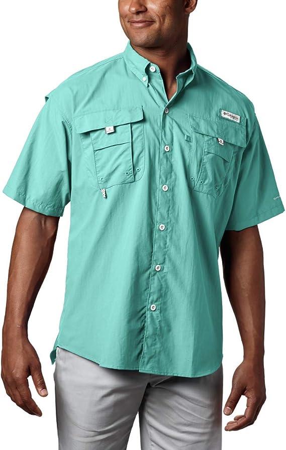 Columbia PFG BahamaTM II - Camiseta de Manga Corta para Hombre, Talla Grande: Amazon.es: Ropa y accesorios