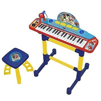 PAW PATROL Órgano banqueta Claudio Reig 2523: Amazon.es: Juguetes y juegos
