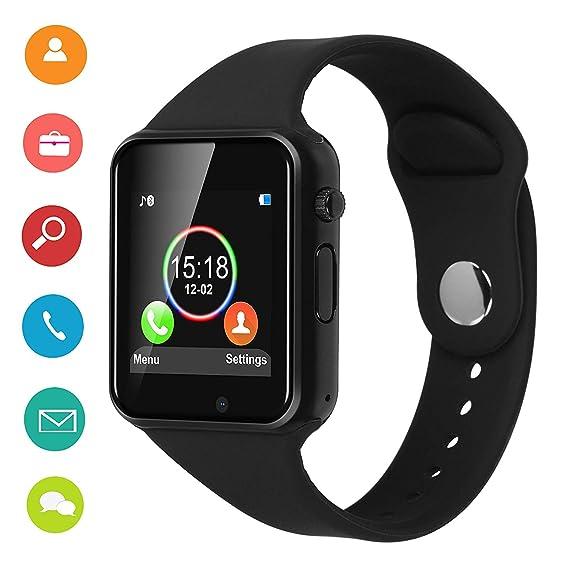 Amazon.com: DOROIM - Reloj inteligente con Bluetooth y ...