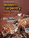 img - for Modern Carpentry Instructor's Manual book / textbook / text book