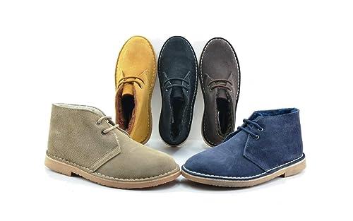 PISACACAS Safari Hombre con Forro Borreguito: Amazon.es: Zapatos y complementos