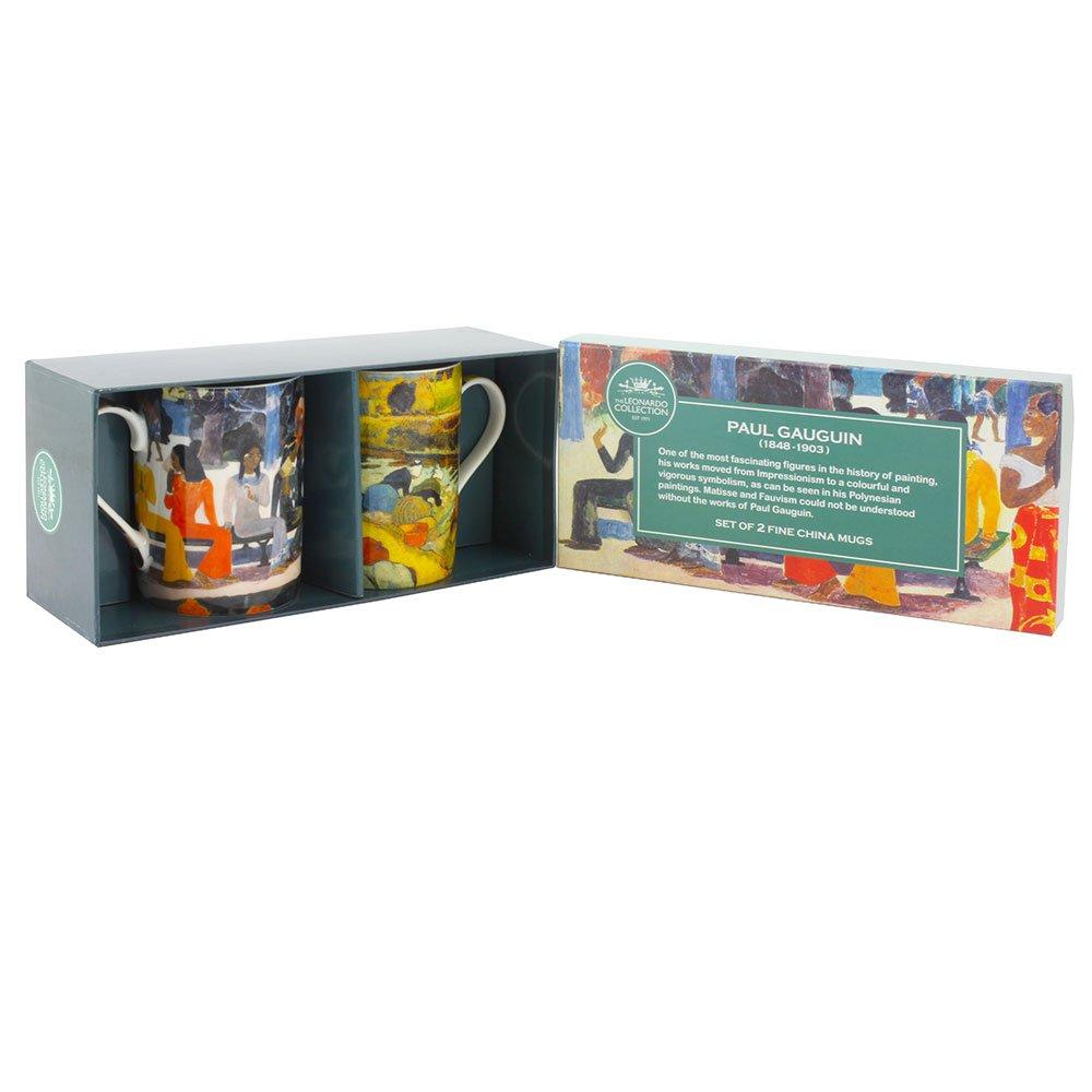 Leonardo Collection Gauguin Tazze, Set di 2 Lesser & Pavey Ltd uk home LESGY LP92472A
