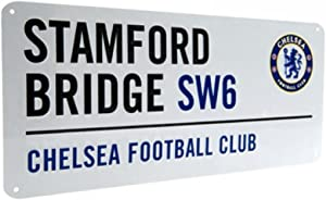 Official Chelsea FC Metal Street Sign