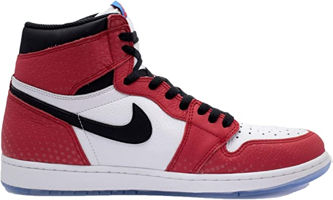 air jordan 1 retro roja y negra