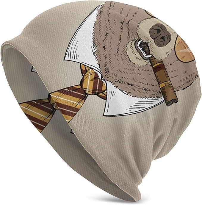 Ye Hua Retrato de Oso en Sombrero de Fieltro, Corbata, Gafas de ...