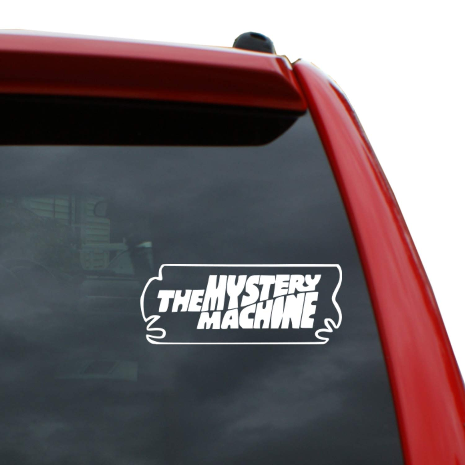 Amazon com scooby doo the mystery machine 2 4 tall and 6 wide vinyl decal window sticker for cars trucks windows walls laptops and more