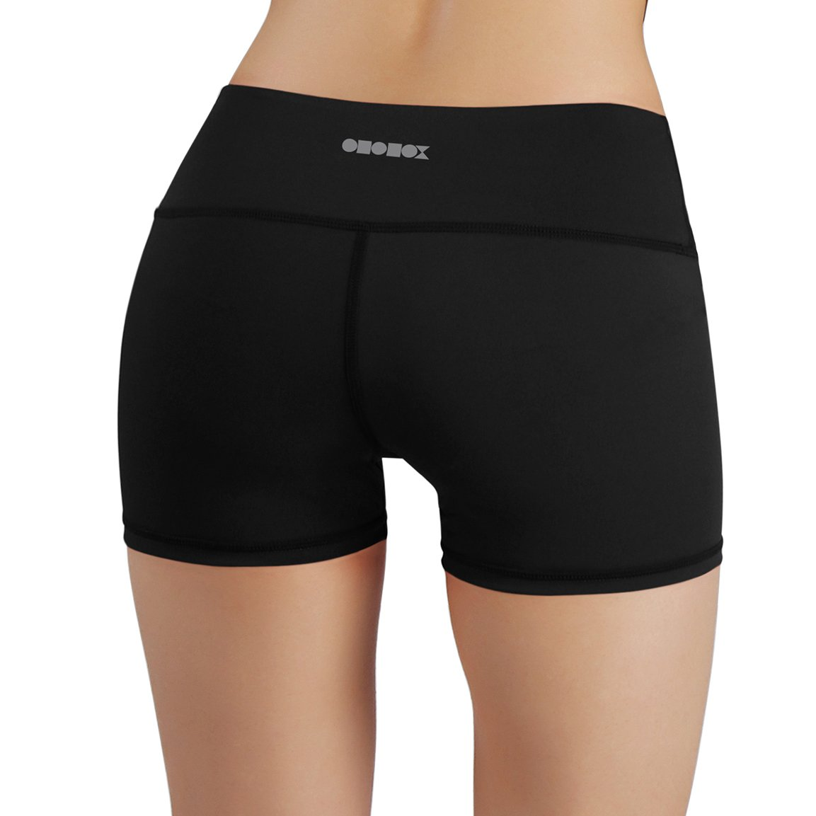 ODODOS Power Flex Yoga Shorts Women Tummy Control Workout