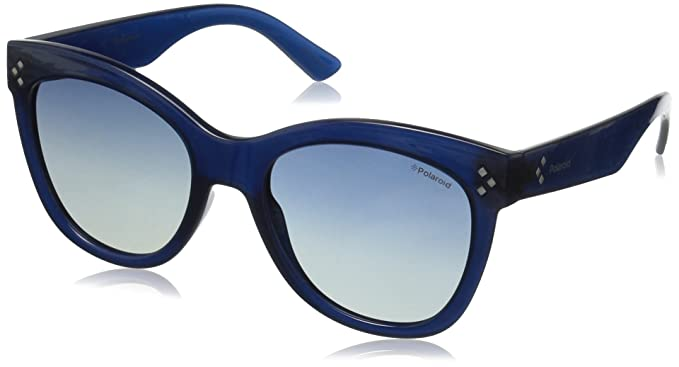 Amazon.com: Polaroid PLD 4040/S – Gafas de sol, Azul, 54 mm ...