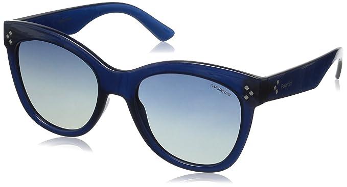 f1a18eac3a6 Polaroid Sunglasses Women s Pld4040s Wayfarer Sunglasses Blue Gradient  Polarized