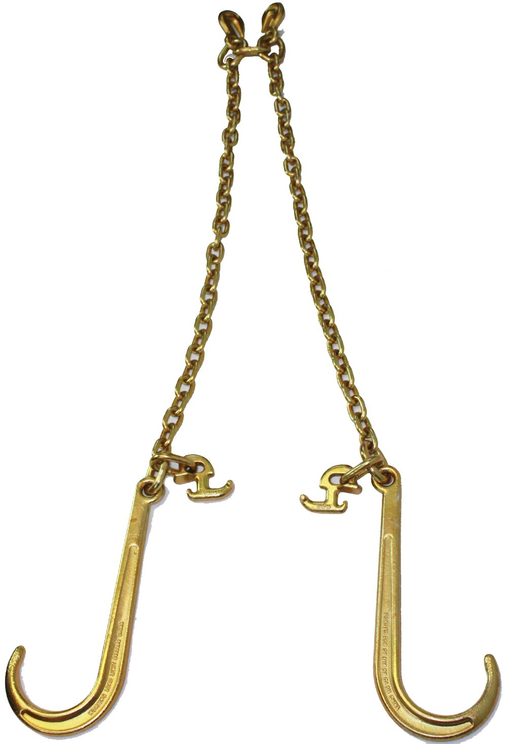 G70 V-Chain Bridle w/ 15'' Large J Hooks, TJ Hook and Grab Hooks 3' Legs by Mytee