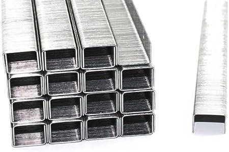 Tackerklammern Heftklammern verzinkt 53//6 5000 Stück Typ 53 6mm für Tacker