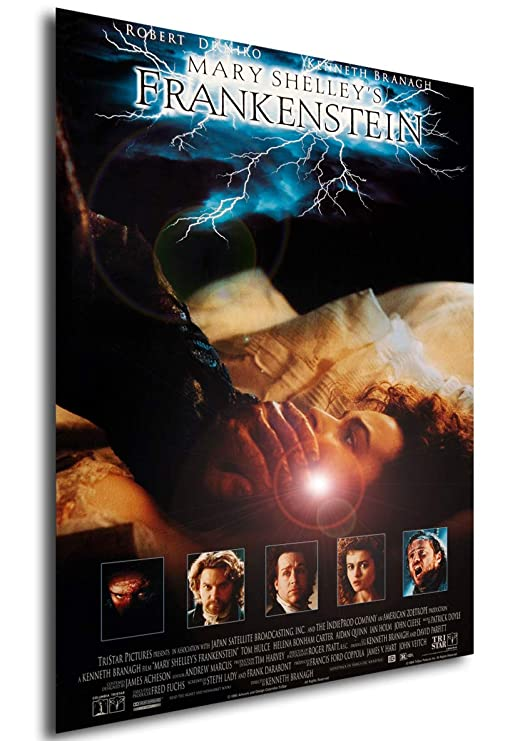 Instabuy Poster Cartel de pelicula - Frankenstein de Mary ...